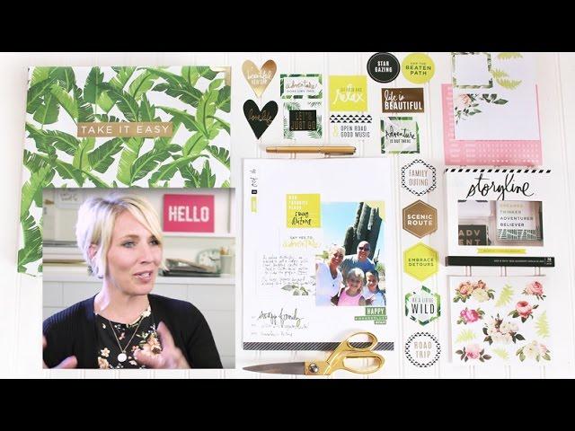 Heidi Swapp Storyline 2 Kits, Albums & Stickers