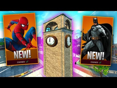 Fortnite SEASON 4 IS HERE! (Tilted Towers Is Going NO WHERE!) - Super Hero SKINS!