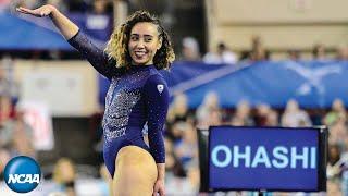 Katelyn Ohashi's sensational floor routine at the 2019 NCAA gymnastics championship