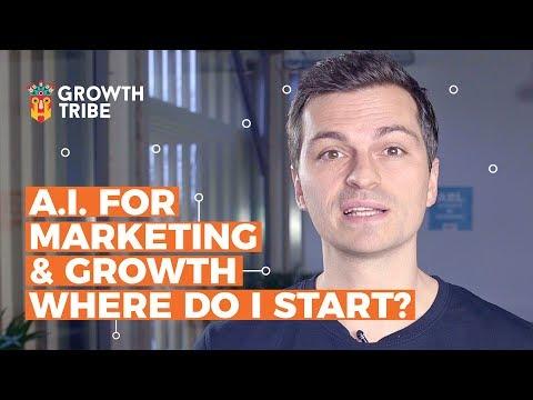A.I. for Marketing & Growth - Where do I start?