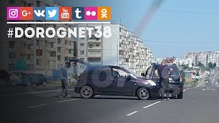 ДТП Мира - Белградская [18.06.2018] Усть-Илимск