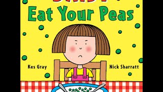 Read Aloud - Eat Your Peas - Childrens Book - By Kes Gray