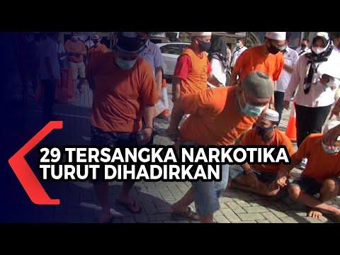 Polda Kalsel Musnahkan 26.9 Kilogram Narkotika, 29 Tersangka Turut Dihadirkan
