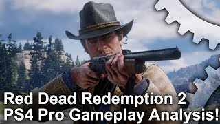 Red Dead Redemption 2 PS4 Pro Analysis: Video
