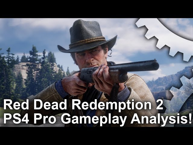 Red Dead Redemption 2 Gameplay Analysis: A Steady 30 FPS