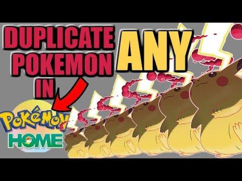 Duplicate ANY Pokemon in Pokemon HOME - Massive Glitch