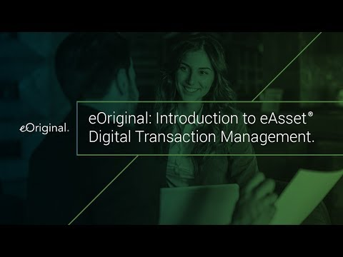 Learn More About eOriginal's eAsset Management Services
