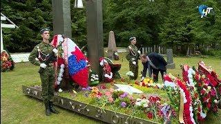 842 красноармейца обрели покой на воинском захоронении в Старой Руссе