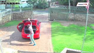Full view of the Edenvale burglary