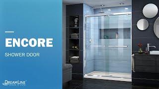 Watch DreamLine Encore Collection | Sliding Shower Door | Sliding Tub Door