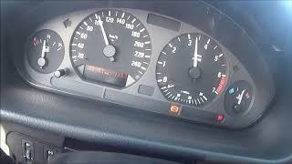 BMW E36 4.4 V8  acceleration 0-150
