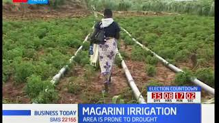 Business Today 11th September 2017- Kilifi County's irrigation project yield massive crop production