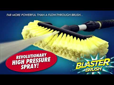 Streetwize 2 in 1 Blaster Brush Kit