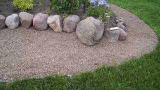 Моя альпийская горка видео
