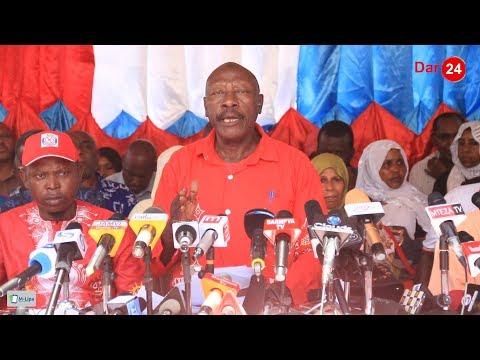CUF yajiondoa rasmi kwenye uchaguzi wa Serikali za mitaa, watoa wito kwa wagombea