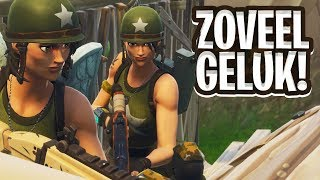 ZOVEEL GELUK MET DE SHOTGUN! - Fortnite: Battle Royale DUO