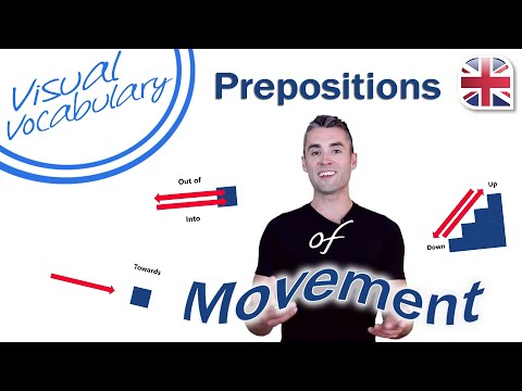 Prepositions of Movement - Visual Vocabulary Lesson