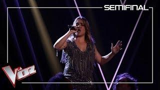 Viki Lafuente Canta 'Something's Got A Hold On Me' | Semifinal | La Voz Antena 3 2019