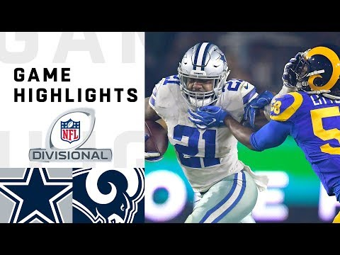Cowboys vs. Rams Divisional Round Highlights  ea02c79b4