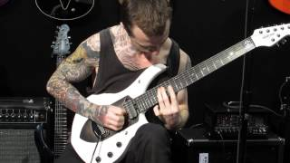 Jason Richardson of Chelsea Grin Dust To Dust first day of NAMM 2015