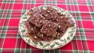 Christmas Crack (aka Saltine Cracker Toffee)