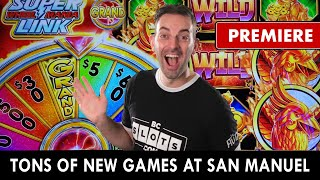 🔴 LIVE Premiere 🎰 First Time Spinning On Brand New Slots!