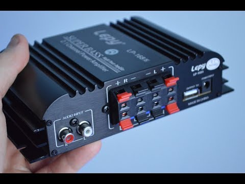 Amplificatore Audio LEPY- ONEU /// UNBOXING E PROVA