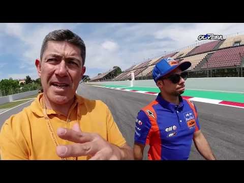 Volta ao Circuito de Barcelona com Miguel Oliveira