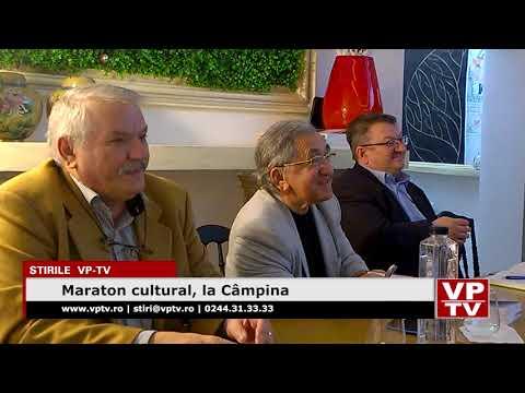 Maraton cultural, la Câmpina