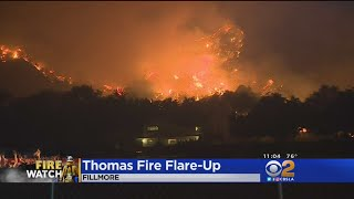 Thomas Fire Takes Aim At Fillmore Overnight