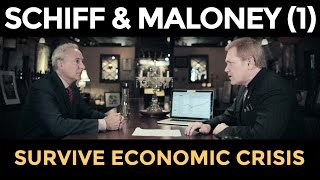 The Coming Market Crash - Peter Schiff & Mike Maloney (Part 1)