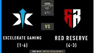Excelerate Gaming vs Red Reserve   CWL Pro League 2019   Cross-Division   Week 5   Day 1