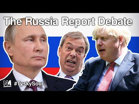 The Russia Report Debate | #TyskySour