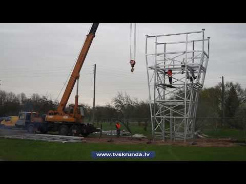 Nīkrācē atklāts otrais kāpšanas tornis Latvijā