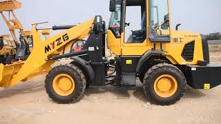How to operate a front end loader safely?