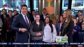 Stana Katic in Good Morning America
