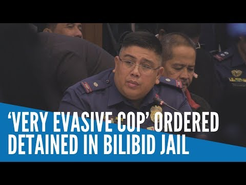 [Inquirer]  'Very evasive cop' ordered detained in Bilibid