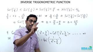 Inverse Trigonometric Function (Maths) (JEE (Main & Advanced) Class 12 )
