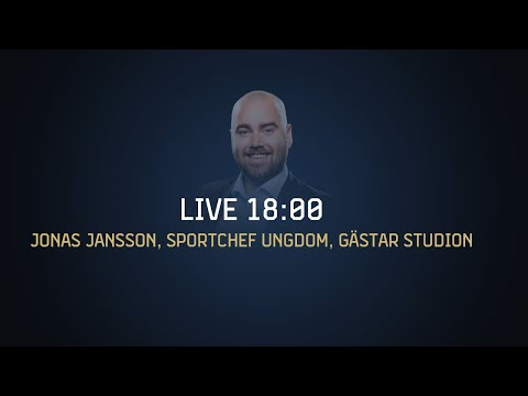Youtube: Jonas Jansson gästar studion innan matchen