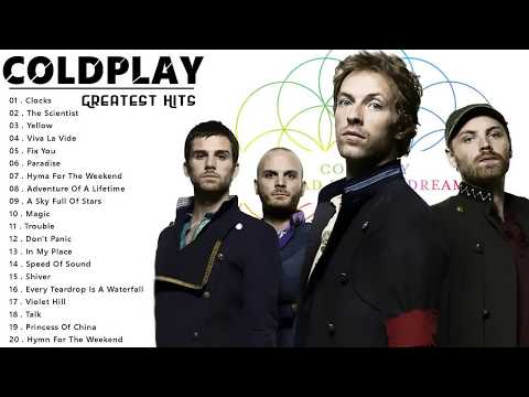 Coldplay greatest hits full album   best songs of coldplay playlist