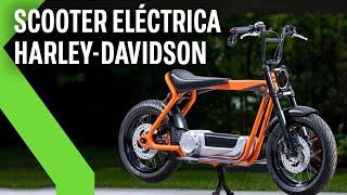 Así es la primera SCOOTER ELÉCTRICA de HARLEY-DAVIDSON