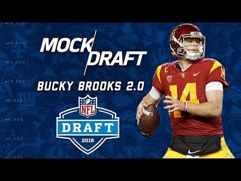2018 NFL Mock Draft Post Combine 2.0   Bucky Brooks   NFL Highlights