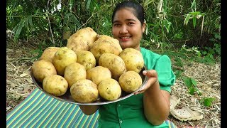 Yummy Cooking Potatoes recipe & My Cooking skill
