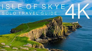 Isle Of Skye Solo Travel Guide 4K