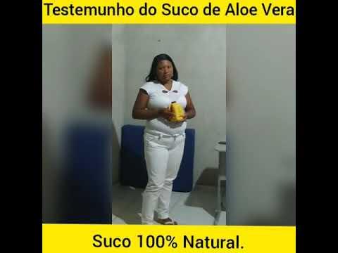 Depoimento dos benefícios do Suco de Aloe Vera Forever