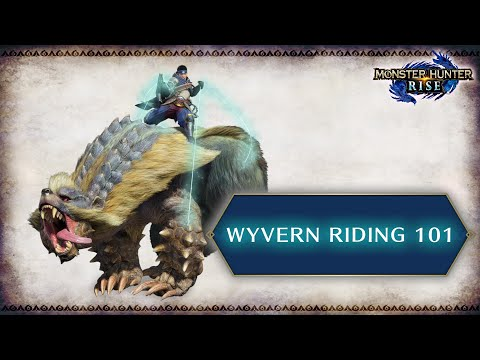 Trailer «Hunting 101: Wyvern Riding» de Monster Hunter Rise