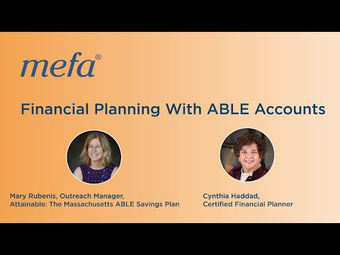 Financial Planning With ABLE Accounts