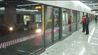 preview picture of video '[Shanghai Metro036]Line13 AC18 Train 上海地下鉄13号線AC18@Jinyun Road 金運路'