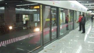 preview picture of video '[Shanghai Metro036]Line13 AC18 Train 上海地下鉄13号線AC18@Jinyun Road 金運路'