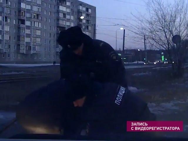 Ангарчане помогают полиции в охране порядка